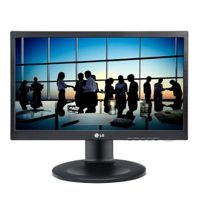 "Monitor LG 20M35PH-B 19.5"" HD TN LED D-Sub/HDMI Altura Ajustável Preto"
