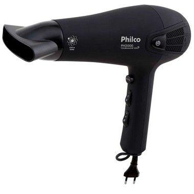 Secador de Cabelo Philco 1900W PH2000 Preto - 220V