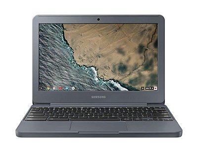 "Notebook Samsung Chromebook Tela 11,6"" XE501C13-AD1BR Intel Celeron N3060 2GB eMMC 16GB - Grafite"