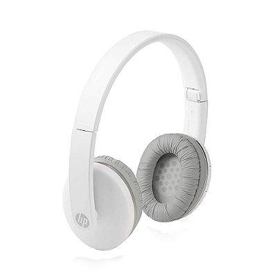 Fone de Ouvido Headphone Bluetooth HP 400 Dobrável Branco