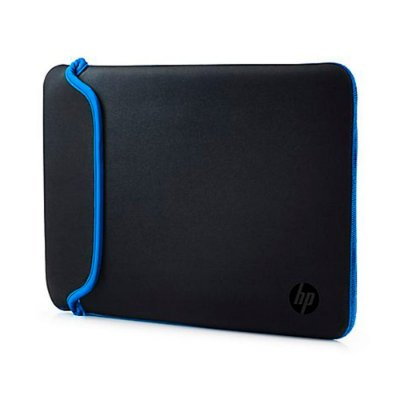"Capa Sleeve para Notebook HP 14"" - Preto e Azul"