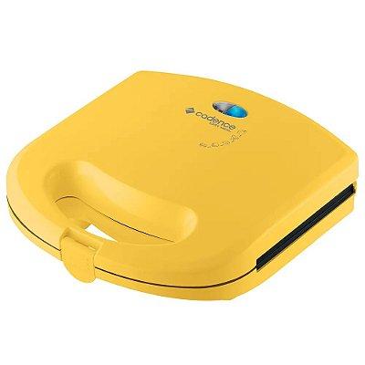 Mini Grill e Sanduicheira Cadence Colors SAN234 Amarela - 127V