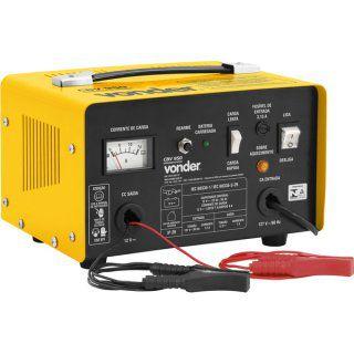 Carregador de Bateria Vonder CBV950 Amarelo e Preto - 127V