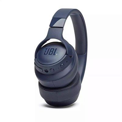 Fone de Ouvido Headphone Bluetooth JBL Tune 750BTNC com Microfone - Azul