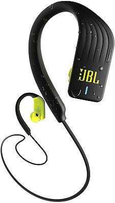 Fone de Ouvido Bluetooth Esportivo JBL Endurance Sprint Preto e Verde