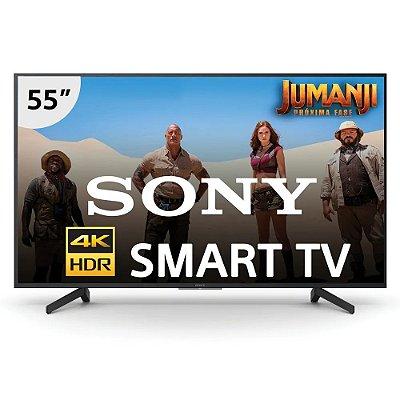 "Smart TV Sony 55"" LED 4K UHD HDR Smart KD-55X705G"