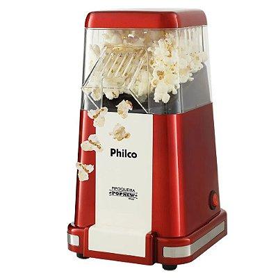 Pipoqueira Elétrica Philco Vintage Pop New PPI02 Vermelho - 220V
