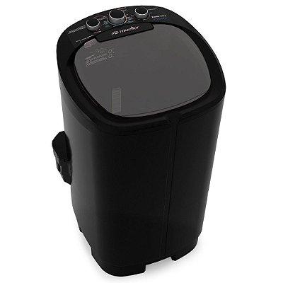 Lavadora Tanquinho Mueller Semiautomática Family Aquatec 10Kg Preta - 127V