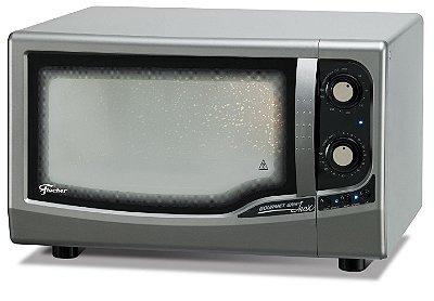 Forno Elétrico de Bancada Fischer Gourmet Grill 44 Litros Inox - 220V
