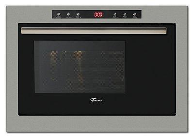 Forno Micro-ondas de Embutir com Dourador Infinity 1400W Inox 25 Litros - 25378-55522 - 220V - Fischer