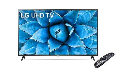 "Smart TV Led LG 65"" 4K UHD 3 HDMI 2 USB Wi-Fi Bluetooth ThinQ Ai Alexa Google Assistente 65UN731C0SCBWZ - Preta"