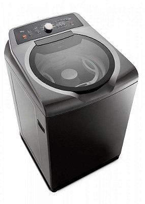 Máquina de Lavar Brastemp 15kg Double Wash BWD15A9 Grafite - 220V
