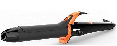 Modelador de Cachos Taiff Curves 1 1/4 Preto e Laranja Bivolt