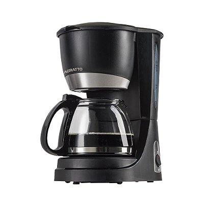 Cafeteira Elétrica 15 Xícaras 550W Preta - Vetro Caffe CEV1502 - 220V - Agratto