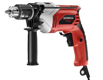 Furadeira de Impacto Mondial FI-05 Power Tools  700W  - Vermelha