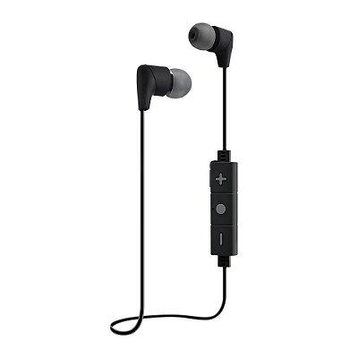 Fone de Ouvido Intra-Auricular i2GO Street Go Bluetooth com Microfone 30cm I2GEAR080 - Preto e Cinza