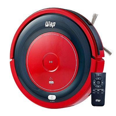 Aspirador Robô Wap W300 Vermelho e Preto - Bivolt