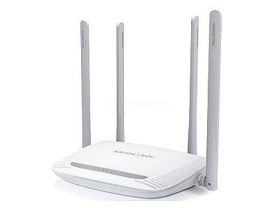 Roteador Wireless Mercusys N MW325R 4 Antenas 5 DBI 300Mbps - Branco