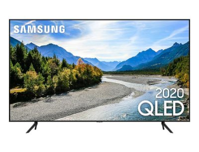 "Smart TV QLED Samsung 50"" QLED 4K Q60T Pontos Quânticos, Borda Infinita, Alexa Built in, Modo Ambiente Foto, Controle Único Q60T - Preta"