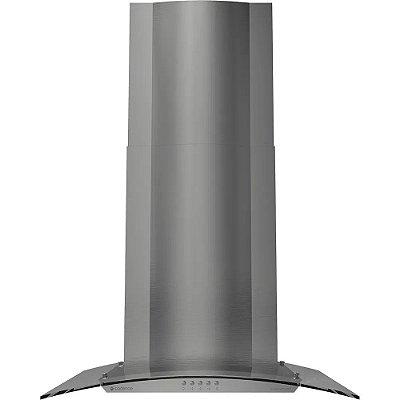 Coifa de Parede Cadence Gourmet 60cm com Vidro Curvo CFA361 - Inox