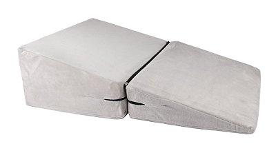 Travesseiro Anti Refluxo RelaxMedic Dr. Coluna - Cinza
