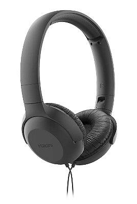 Fone de Ouvido Headphone Philips  com Microfone TAUH201BK/00 - Preto