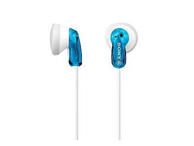 Fone de Ouvido Intra-Auricular Sony MDR-E9LP - Azul