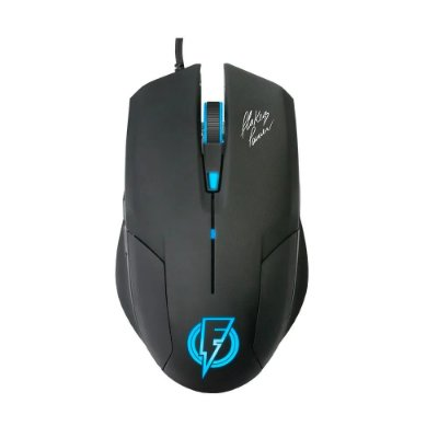 Mouse Gamer ELG Flakes Power Stream 6 Botões 2400 Dpi FLKM002 - Preto