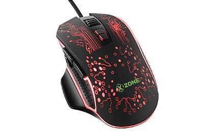 Mouse Gamer XZone GMF-03 3200 Dpi - Preto
