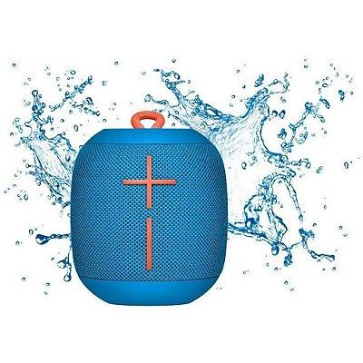 Caixa de Som Bluetooth Logitech UE Wonderboom 10W À Prova D'água - Azul