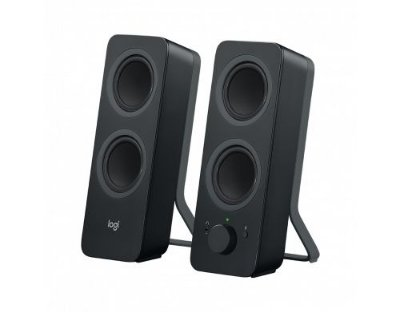 Caixa de Som Bluetooth Logitech Z207 Easy-Switch para até 2 Dispositivos 4.1 10W P3 - Preto
