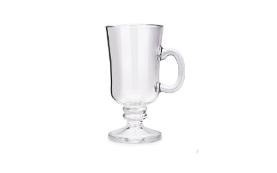 Caneca Haus Concept Irish Coffee Pavillion 240ml Cristal - Incolor
