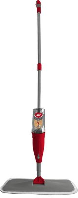 Mop Rodo Vassoura Spray Wap com Reservatório - Vermelho e Cinza