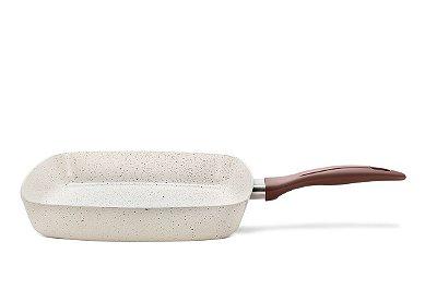 Grill Brinox Ceramic Life Smart Plus 26x26x4,3cm 2 Litros - Vanilla