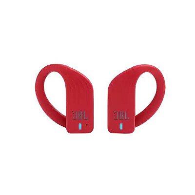 Fone de Ouvido Esportivo JBL Endurance Peak À Prova D'água Bluetooth Vermelho