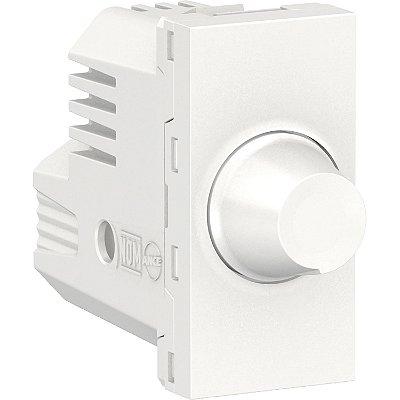 Módulo Dimmer Rotativo Orion Lâmpadas Resistivas Antibacteriano Branco 127V - S70710024 - Schneider Electric