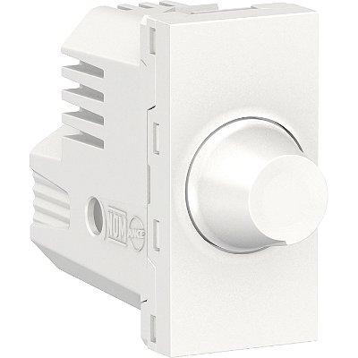 Módulo Dimmer Rotativo Orion para Lâmpadas Led Antibacteriano 1M Branco 127/220V - S70720129 - Schneider Electric