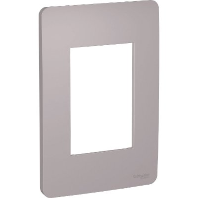 Placa 4X2 3 Postos Orion Axis Grey - S730103224 - Schneider Electric