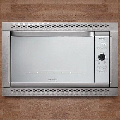 Forno de Embutir Elétrico Digital Decorato Gourmet 1800W Inox 44 Litros - Mueller