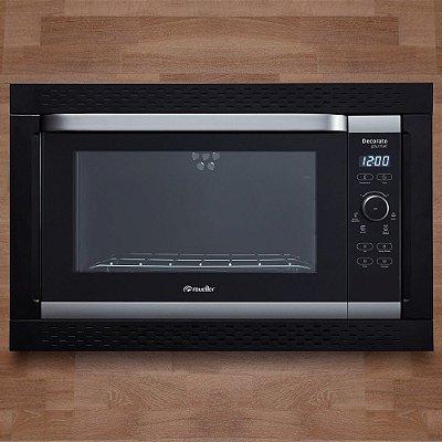 Forno de Embutir Elétrico Digital Decorato Gourmet 1800W Preto 44 Litros - Mueller
