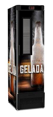 Cervejeira Metalfrio Vertical com Visor 324 Litros VN28F  - Adesivada