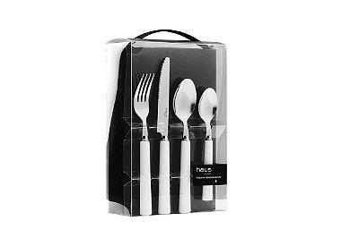 Faqueiro Haus Concept Essential 24 Peças - Branco