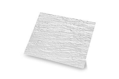 Tábua Retangular Haus Concept Stone 32,5X26,5X1cm - Branco