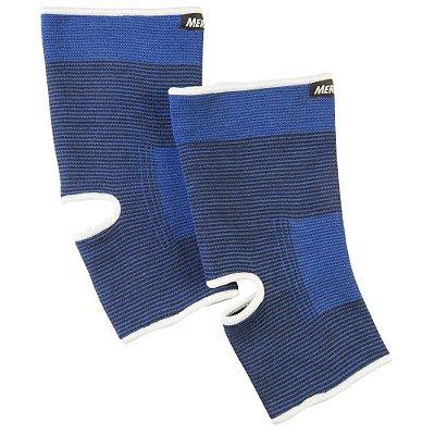 Tornozeleira Elástica Mercur Tamanho M BC0647-BZ - Azul