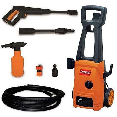 Lavadora de Auta Pressão Intech Machine Acqua1400  - Amarela e Preta