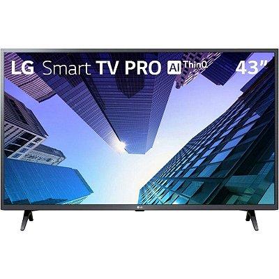 """Smart TV Led 43"""" LG 43LM631C0SB Full HD 3 HDMI 2 USB Wi-Fi Conversor Digital"""