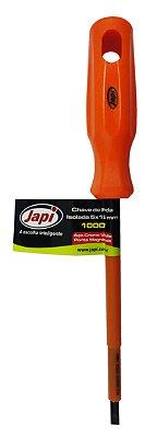 Chave de Fenda Japi Isolada 3x100 CPI3100 - Laranja
