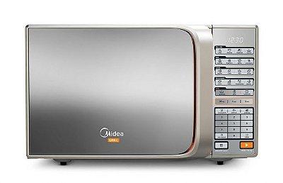 Micro-ondas Midea 30 Litros MTAEG41 Prata Espelhado - 127V