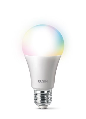 Lâmpada LED Buldo Smart Elgin 10W Color A60 48BLEDWIFI00 - Bivolt