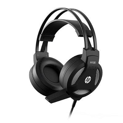 Headset Gamer HP H100 P2 Stereo 7QV34AA - Preto